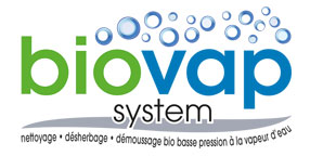 Logo Biovap System sur fond blanc